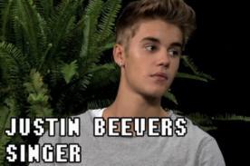 Video: Justin Bieber en una extraña y divertida entrevista de Funny Or Die