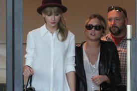 Taylor Swift y Demi Lovato salen juntas en un día de compras