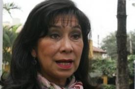 Inician petición para que Martha Chávez salga de la Comisión de DDHH