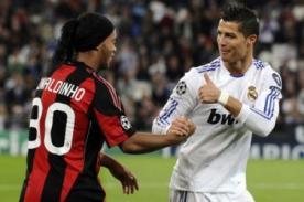 Ronaldinho a Cristiano Ronaldo: Serás bien recibido en Brasil