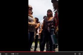 Caso UPC: Publican video de lo que pasó antes del incidente con los alumnos