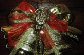 Aprende a hacer un adorno navideño para la puerta de tu casa