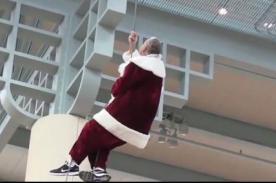 ¡Auch! Mira los más graciosos 'fails' del querido Papa Noel - VIDEO