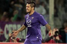 Juan Vargas jugará la Europa League con la Fiorentina