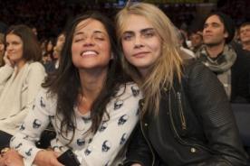 Michelle Rodríguez confirma su relación amorosa con Cara Delevigne