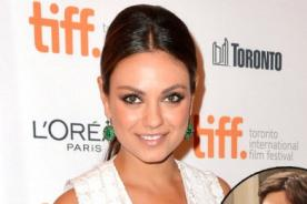 Mila Kunis actuará junto a Ashton Kutcher en Two and Half Men