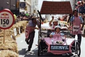 Red Bull: Un adelanto de lo que serán los Carros Locos en Perú - VIDEO