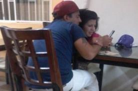 Corazón Serrano: Estrella Torres y Tommy Portugal fueron vistos besándose