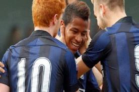 Andy Polo anotó para el Inter de Milán en el clásico italiano - VIDEO