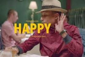 La versión sin editar y sin música de 'Happy' de Pharrell Williams - VIDEO