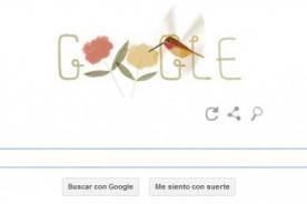 Google celebra el Día de la Tierra 2014 con el Colibrí Rufo