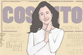 Parodian portada de la revista 'Cosas' donde aparece Nadine Heredia - Foto