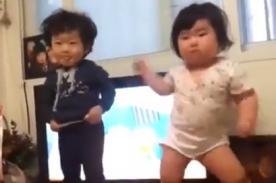 YouTube: Bebés sorprenden al mundo con divertido baile - Video