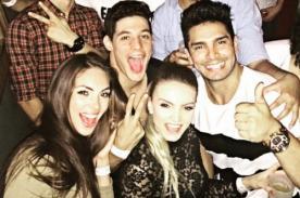 Esto es Juerga: 'Guerreros' tuvieron su noche loca - FOTOS