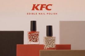 KFC lanza esmalte de uñas comestible