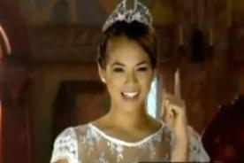¿Jazmín Pinedo se convierte en princesa de Disney? - VIDEO
