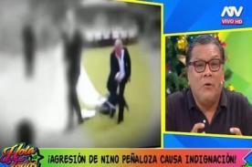 Mejor no lo defiendas: Dr Ángulo patina horrible con comentario sobre agresión de Nino Peñaloza