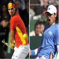 Final Copa Davis: Rafael Nadal vs Juan Mónaco abrirán la serie