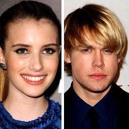 Emma Roberts y Chord Oversteet estarían iniciando una relación