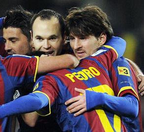 Video de Granada vs Barcelona (0-1) – Liga española 2011
