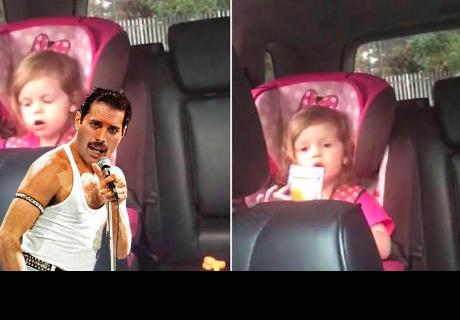Niña causa furor entre seguidores de Freddy Mercury al cantar 'Bohemian Rhapsody'