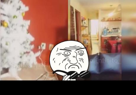 Algo extraño pasaba en su casa, toma su cámara y graba un evento paranormal