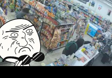 Asaltantes se convierten en héroes tras intentar robar una tienda