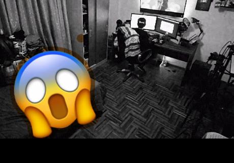 Incidente paranormal es captado por una cámara de seguridad en Lima