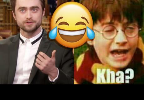 Daniel Radcliffe reacciona a los memes de Harry Potter y fans enloquecen