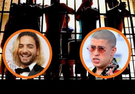 Presos denuncian que ¿Fueron torturados con canciones de Maluma y Bad Bunny?