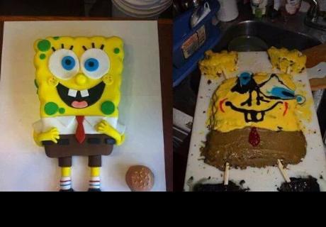 Hicieron pasteles como en los tutoriales y hornearon monstruosidades (VIDEO)