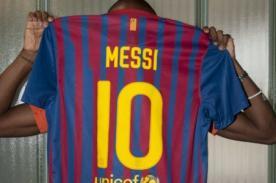 Messi: Amigos le rindieron homenaje por su récord