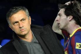 Barcelona vs Real Madrid: Mourinho pondrá marca personal sobre Messi