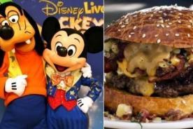 Cadena Disney no emitirá más publicidades de comida chatarra
