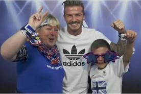 Olimpiadas 2012: Beckham sorprende a seguidores de Gran Bretaña - Video