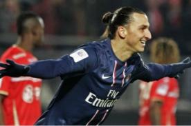 Video: Nuevo hat trick de Zlatan Ibrahimovic con el PSG - Ligue 1