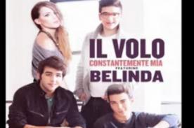 IL VOLO presentó canción con Belinda