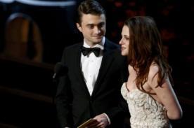 Daniel Radcliffe: Quería cargar a Kristen Stewart en los Oscar