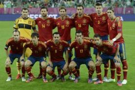 España anuncia a sus seleccionados para la Copa Confederaciones 2013