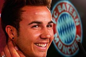 Mario Götze presentado en Bayern Munich