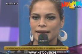 Combate: Carolina Gamarra critica a Julián Zuchi por ser extranjero - Video