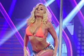 Yamila Piñero molesta con Richard Torres por agarrarle un seno