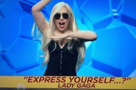 Lady Gaga imitó y se burló de Madonna en Saturday Night Live - Video