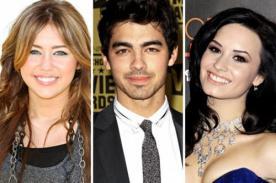 Joe Jonas: Miley Cyrus y Demi Lovato me incitaron a fumar marihuana