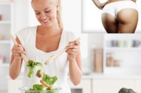 Conoce que alimentos ayudan a aumentar el tamaño de los glúteos
