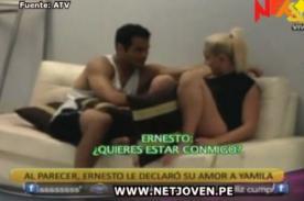 Combate: Ernesto declaró su amor a Yamila Piñero - Video