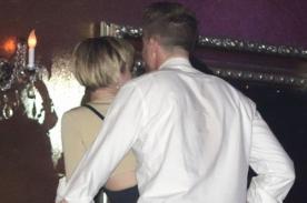 Foto: Miley Cyrus bailó de forma sugerente con misterioso hombre