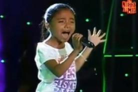 La Voz Kids: Participante sorprende al cantar 'Yo soy una mujer' - Video