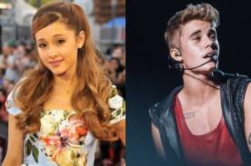 Ariana Grande defiende a Justin Bieber de las burlas sobre su arresto