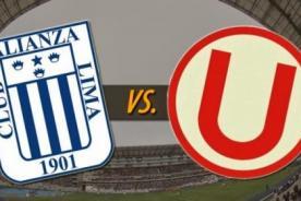Súperclásico: Universitario vs Alianza Lima en vivo por CMD Y GOL TV